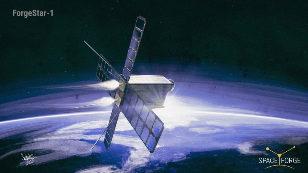 Space Forge factory in-orbit for carbon negative future