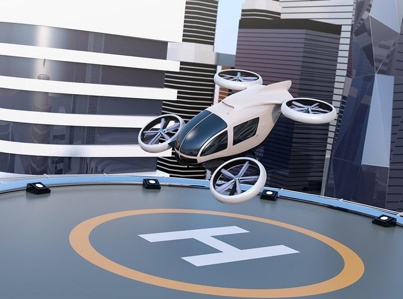 Vertical Takeoff and Landing Vehicle (VTOL)