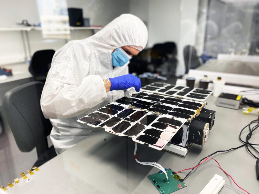Photo by NanoAvionics: 6U M6P nanosatellite